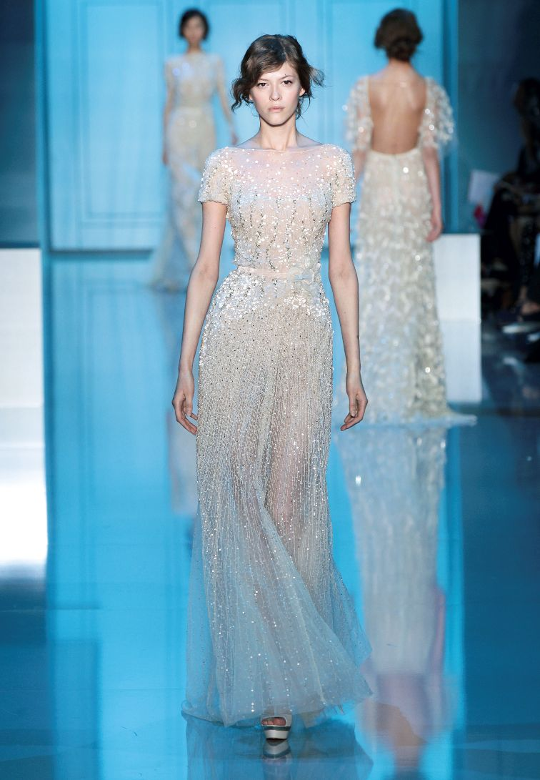 A Celestial Dream at the Elie Saab Haute Couture A/W 2011-2012 Show ...