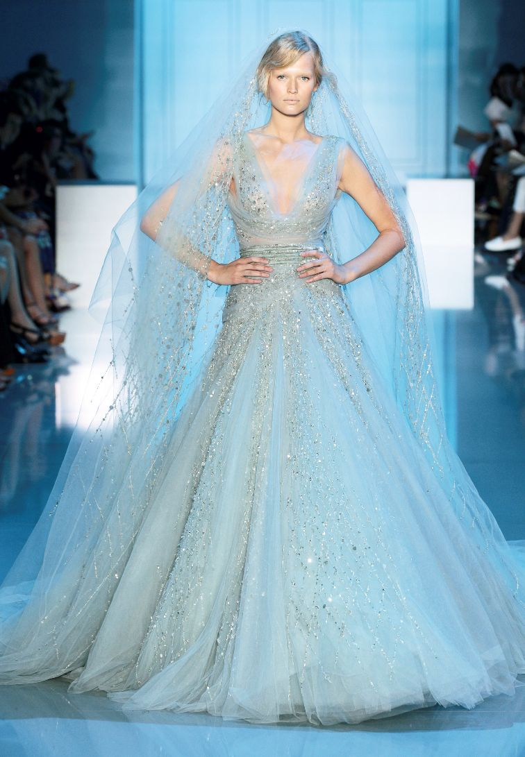 A Celestial Dream At The Elie Saab Haute Couture A W 2011